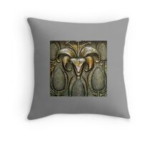 The Grotto - The Birth Of Christ Throw Pillow