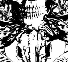 death and skulls Sticker