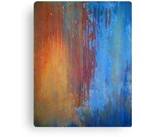 A Touch of Blue.... Canvas Print
