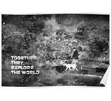 Together they explore the world Poster