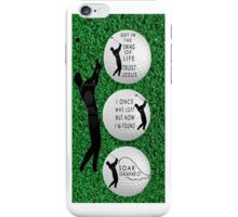 ㋡ GET IN THE SWING OF LIFE GOLF BALL IPHONE CASE ㋡  iPhone Case/Skin