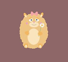 Fluffy Hamster by ilovecotton