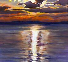 Maine Sunset by Barbara Weir