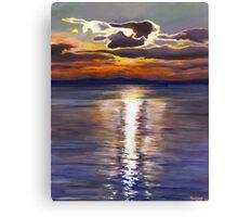 Maine Sunset Canvas Print
