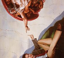The Creation of Adam (21st Century Edition) by Adam McDaniel