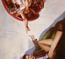 The Creation of Adam (21st Century Edition) by Adam McDaniel
