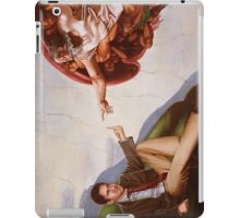 The Creation of Adam (21st Century Edition) iPad Case/Skin