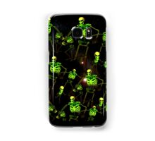 Skeleton space invaders Samsung Galaxy Case/Skin