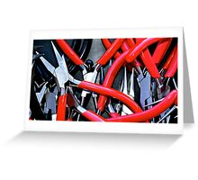 Something Red & Pointy Greeting Card