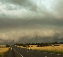 Skies are falling - Murrumbateman, NSW.  by Troy Barrett