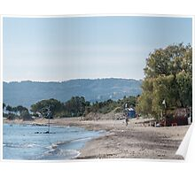Paradise Beach  Kos   Greece Poster