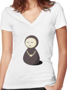 Sleepy Women's Fitted V-Neck T-Shirt