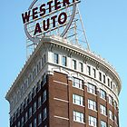 Western Auto Building, Kansas City, Missouri by Crystal Clyburn