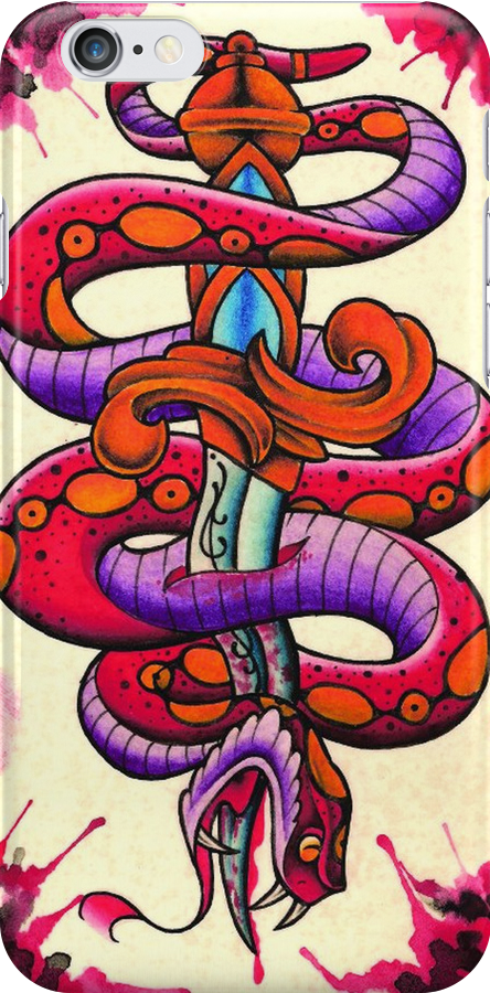 Snake and Dagger by MikeFrench