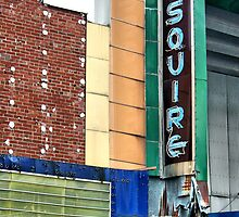 Esquire Theatre, Cape Girardeau, Missouri by Crystal Clyburn