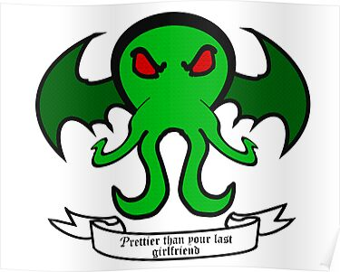 Cthulhu - Prettier than your last Girlfriend by DavinciSMURF