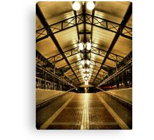 Disney World Monorail Station, Orlando, Florida Canvas Print