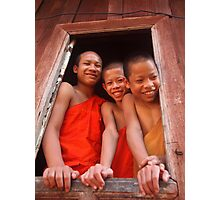 Greetings from Laos Photographic Print