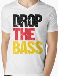 DROP THE BASS (Germany) Mens V-Neck T-Shirt