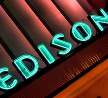 Edison Theatre, Fort Myers, Florida by Crystal Clyburn