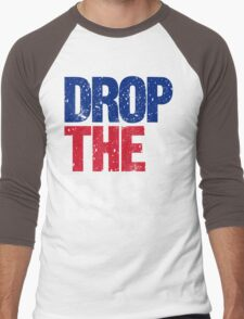 DROP THE BASS (UK) Men's Baseball ¾ T-Shirt