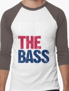 DROP THE BASS (USA) Men's Baseball ¾ T-Shirt