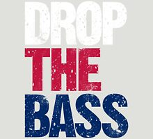 DROP THE BASS (USA) Womens Fitted T-Shirt