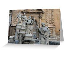 Twelve Apostles Sculptures Greeting Card