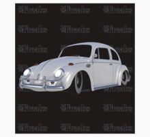 Das VW-Freaks White Beetle (Black BG) by VW-Freaks