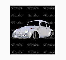 Das VW-Freaks White Beetle (Black BG) Unisex T-Shirt