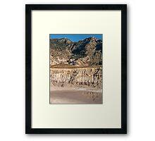 Stratovolcano Nisyros Island  Aegean Sea Framed Print