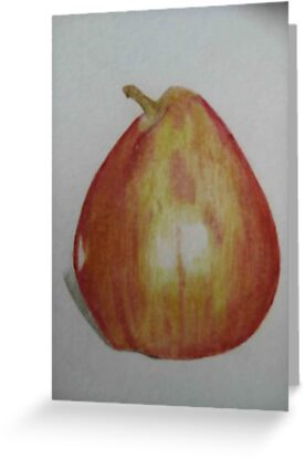 Anjou Pear by triciad