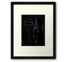 Lock, stock and colonial. Framed Print