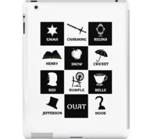 OUAT once upon a time iPad Case/Skin