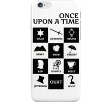 OUAT once upon a time iPhone Case/Skin