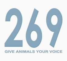 269 - give animals your voice Kids Clothes