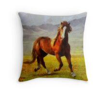 Freedom by Pierre Blanchard Throw Pillow