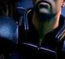Commander Shepard- Deal with it Sticker