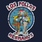 NEW &quot;Los Pollos Hermanos&quot; Vintage Distressed (Crystal Clear Design) by TeeHut