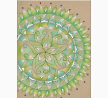 Green Flower Mandala Classic T-Shirt