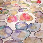 LOTUS POND 5 by Gea Austen