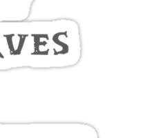 Some Wood Elves marry Dwarves Sticker