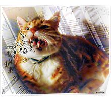 Leo Loves to Sing Poster