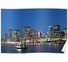 Brisbane City Poster