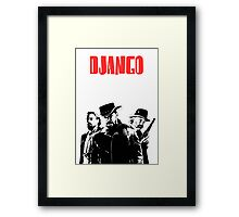 Django Unchained illustration  Framed Print