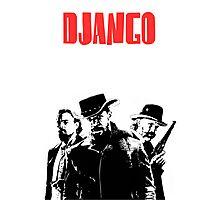Django Unchained illustration  Photographic Print