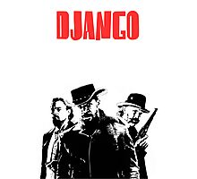 Django Unchained illustration  Photographic Print