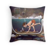 Depths of Imagination Throw Pillow