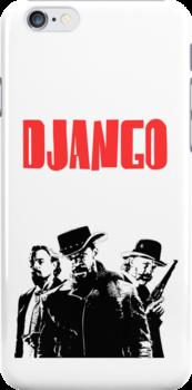 Django Unchained illustration  by Creative Spectator
