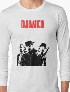 Django Unchained illustration  Long Sleeve T-Shirt